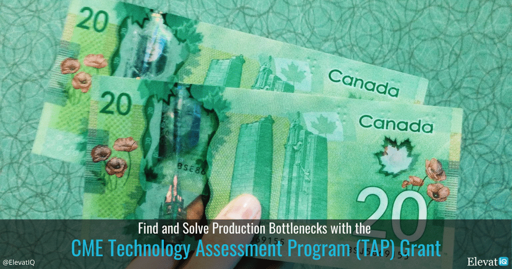 Find and Solve Production Bottlenecks with the CME Technology Assessment Program (TAP) Grant