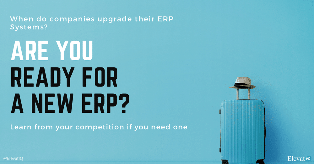 Are You Ready for a New ERP?