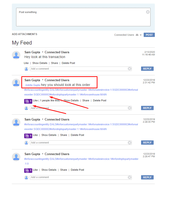 Ming.le Collaboration for Document Management - Infor CloudSuite Industrial (Syteline) ERP