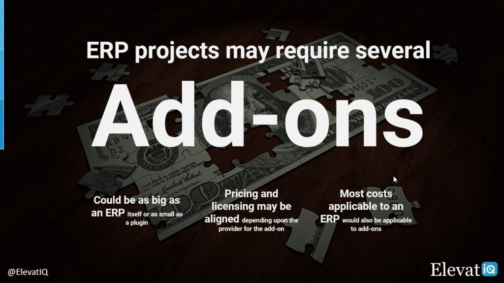 ERP Projects Need Add-Ons | ElevatIQ