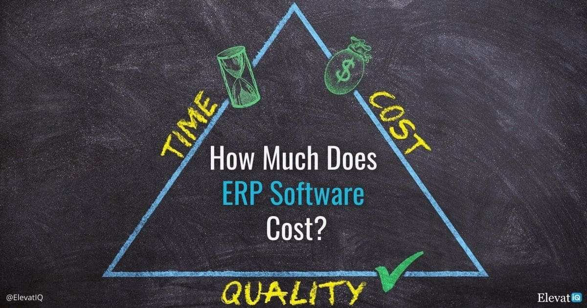 ERP System Price: How Much Does ERP Software Cost?